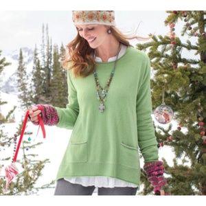 Sundance 100% Cashmere Softest Embrace Pullover